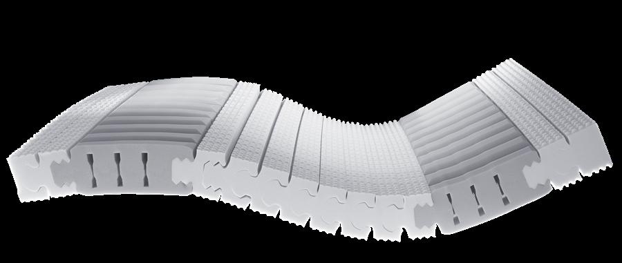 Lattoflex Kern mit Welle